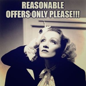 Other - Please be reasonable with offers.